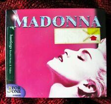 MADONNA SEALED WB AUSTRALIA ONLY 3 CD FIRST ALBUM SET VIRGIN TRUE BLUE PROMO BOX