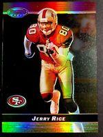 2000 Bowman's Best Acetate Parallel #12 Jerry Rice San Francisco 49ers #147/250