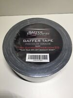 Gaffer Power Black Gaff Tape, 2 inch x 30 yards, No Residue, Strong, MADE IN USA