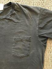 vintage FADED BLACK soft POCKET T SHIRT medium