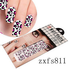 1Pcs Self Nail Wraps Stickers Adhesive Polish Foils Decoraction Art Decals