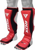 RDX Shin Instep Pads Guards MMA Legs Guard Protection Foot Training Kick Boxing