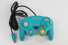 Official Nintendo GameCube Controller Pad Teal Emerald Blue Tight OEM GO511