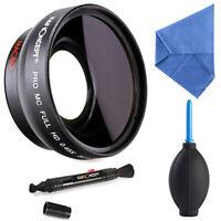 K&F Concept 52mm 0.45x HD MC Super Wide Angle Lens Macro Fisheye for Nikon D5100