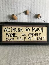 WINE WALL ART - BAR HOME DECOR