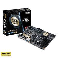 ASUS Z170-P ATX LGA1151 INTEL MOTHERBOARD - Z170 CHIPSET, HDMI, DVI-D, USB 3.0