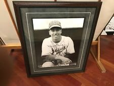 Photo Of Snider signed And Framed (NO COA)