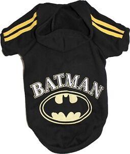 BATMAN Dog Cat Coat Sweatshirt Jersey Hoodie Jumper For SMALL Breeds XXS- L