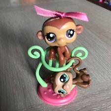 Littlest Pet Shop BOY & GIRL MONKEY TWINS #56 & #57