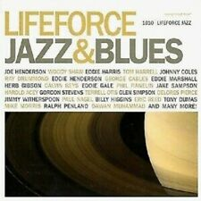 Various - Lifeforce Jazz & Blues - New and sealed CD
