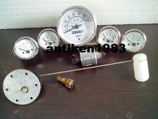 Gauges Kit- 85 mm Speedometer Elec Temp Oil Fuel Volt Senders/ Sending unit