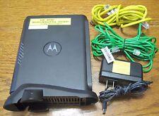 ATT Uverse Motorola NVG510 4-Port  Wireless  Router