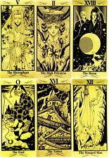 Oop Basara Gold Tarot deck cards by Yumi Tamura