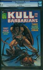 KULL AND THE BARBARIANS #1 CGC 9.6 Neal Adams, John Severin art! 1975