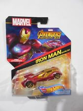 Hot Wheels 2017 Marvel Avengers Infinity War Iro Man Mark 50 Character Car