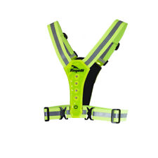 ROGELLI LED SAFETY RUNNING VEST FLUORESCENT ONE SIZE
