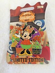 WALT DISNEY WORLD NOT SO SCARY HALLOWEEN PARTY 2018 MINNIE LIMITED EDITION