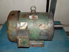 Baldor M3711T Motor 3500RPM 10HP 208-230/460Volt 215T Frame 25.6-24/12Amp