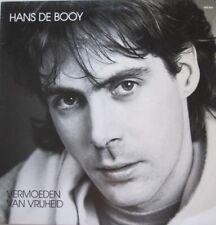 HANS DE BOOY - VERMOEDEN VAN VRIJHEID - LP (original innersleeve)