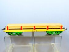 """VINTAGE """"O"""" HORNBY MODEL No.2    TIMBER WAGON     """"YELLOW & GREEN VERSION"""
