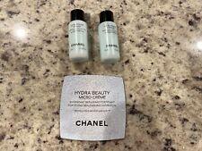 2 Chanel Le Bi-Phase Visage Face Makeup Remover 10ml each,Chanel Micro Creme 1ml