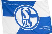 Stockflagge Stockfahne FC Schalke 04 Erfolge - 60 x 90 cm