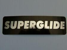 "HELMET STICKER   ""SUPERGLIDE""   Single sticker   #F C8"