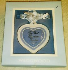 Wedgwood Christmas Ornament- Our First Christmas Together - 2007