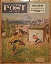THE SATURDAY EVENING POST APRIL 21 1951 KEFAUVER REPORTS OHIO SACRAMENTO