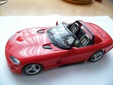 Modellauto 1:18, Bburago, Dodge Viper RT/10, rot, Cabrio