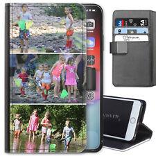 Personalizado Cuero Artificial Funda para Teléfono, Foto IPHONE Huawei Samsung