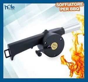 Soffiatore per Barbecue manuale Accessori Utensili BBQ Accendifuoco Ventilatore