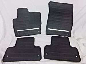Land Rover OEM Range Rover Evoque L551 2020+ Black Rubber Floor Mat Set  New