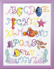 Finding Nemo Alphabet Sampler Cross Stitch Kit