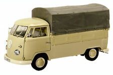 SCHUCO SH0370 VW T1B PICK UP CANVAS BEIGE 1:18
