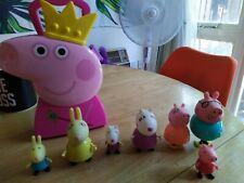 Peppa Pig Friends & Fa 00004000 mily Figures Toy With Fairy Peppa Collector Box With.