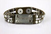Diesel Avite Armband Bracciale bracelet used look  Leder Leather