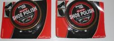 2 x Black Shoe Polish Shiner Protector water resistant 40ml.Prevents dry Leather