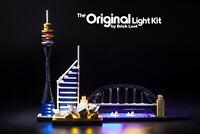 LED Lighting Kit for LEGO ® Architecture Sydney Skyline set 21032