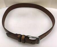 James CampbellMen 36 Leather Belt Brown India Made