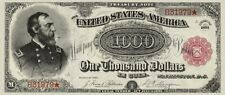 United States, Treasury Note $100, $500 & $1000, 1891, Fr.378 - 379 REPRODUCTION