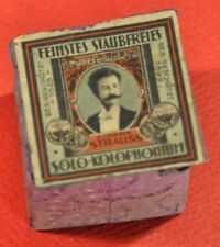 Vintage Feinstes Staubfreises  Solo  Kolofonium Johann Strauss w/Orig.box