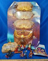Disney Treasure Planet Movie 2002 McDonald's Happy Meal Store Display Toys Set