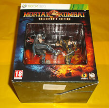 MORTAL KOMBAT KOLLECTOR'S EDITION XBOX 360 Collector Vers Italiana COMPLETO - AI