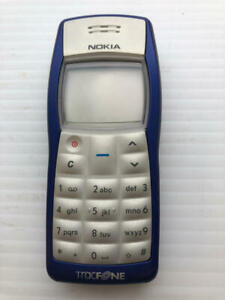 Noika RH-36 Blue and Silver Tracfone ASIS Cell Phone - Fast Shipping!