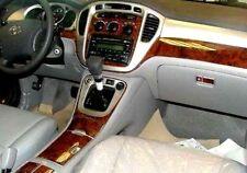 TOYOTA HIGHLANDER 2003 04 2005 06 07 DASH KIT AUTO INTERIOR WOOD CARBON ALU TRIM