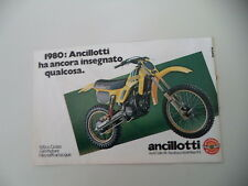 advertising Pubblicità 1980 MOTO ANCILLOTTI 125 CROSS HIRO