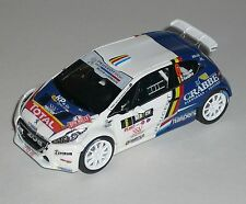 PEUGEOT 208 R5 PRINCEN SPA RALLY 2016  DECALS 1/43