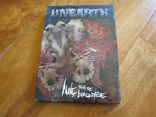 UNEARTH Alive From The Apocalypse 2XDVD + CD KILLSWITCH ENGAGE NO LP