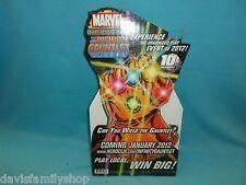 Marvel The Infinity Gauntlet 2012 Heroclix Display Standee ** NEW Unused